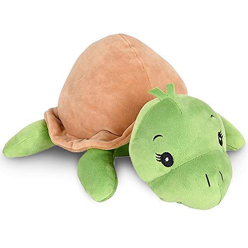 ArtCreativity Softies Tatiana The Turtle - 13 Inch Plush Stuffed Animal - Super Soft and Cuddly Toy - Cute Nursery Decor for Kids - Best Gift for Baby Shower, Boys, Girls