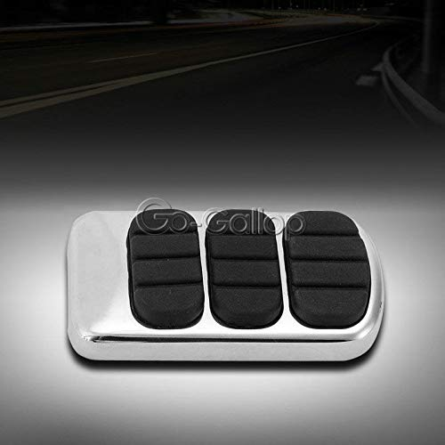 Motorcycle Aluminum Brake Pedal Pad Cover For Kawasaki For Vulcan 1500 1600 900 2000 Classic/For Suzuki Boulevard C50 Intruder 1500 Lc