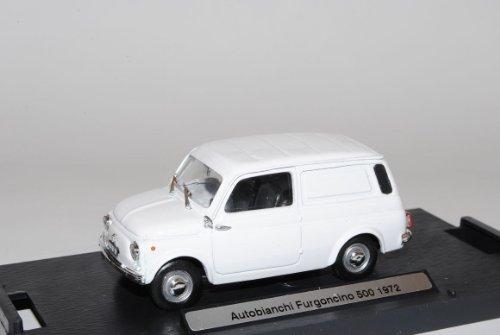 Brumm FIAT 500 Autobianchi Furgoncino 1972 Van Weiss 1/43 Modell Auto