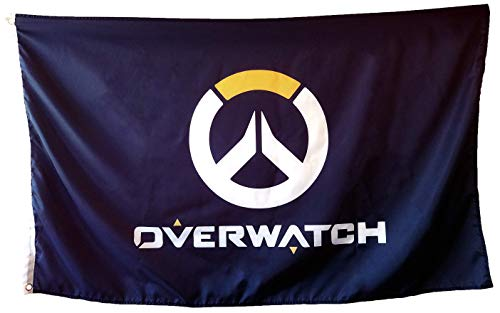 Overwatch Flag - 3x5ft - with Sleeve and Metal Grommet