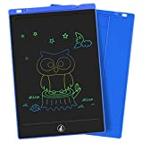 LCD Writing Tablet, Electronic Colorful Screen Drawing Board Kids Tablets Doodle Board Writing Pad for Kids at Home, School and Office (11-Inch, Blue)