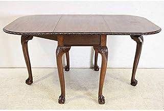 dt-31 1940年代イギリス製アンティーク マホガニー チッペンデールスタイル バタフライテーブル ダイニングテーブル