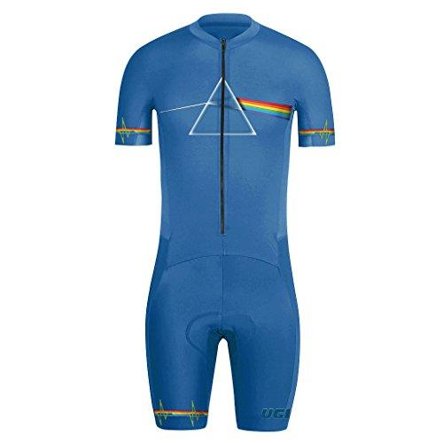Uglyfrog MUEN17 Nuovi Uomini Traspirante Primavera Autunno A Maniche Corta Ciclismo Body Skinsuit All'aperto Sportswear Abbigliamento Triathlon