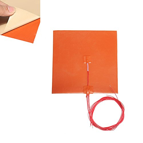 BliliDIY 200 * 200Mm 110V/220V 200W Silicone Heated Bed Heating Pad W/Thermistor For 3D Printer - 110V