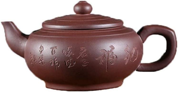 HUAXUE Teapot Japanese, Tea Clay Memphis Mall 2021 K Cup Purple