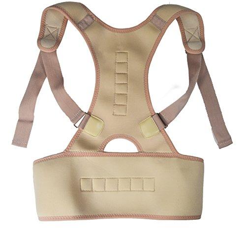 Jocca 6249 - Cinturon corrector de posturas, color blanco