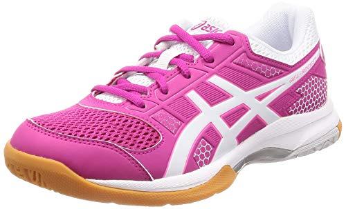Asics Damen Gel-Rocket 8 Volleyballschuhe, Pink (Pink Rave/White 708), 39.5 EU