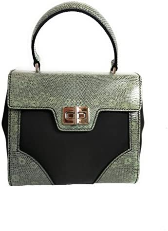 Prada Women s Green Tessuto Lucerto Nylon and Leather Handbag 1BA014 product image