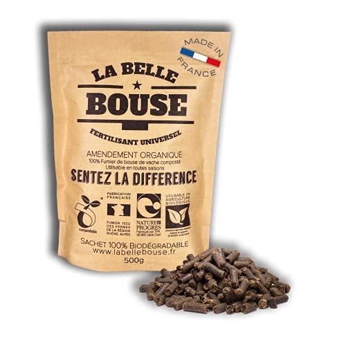 La Belle Bouse | Fertilisant Universel 500g | Naturel & Bio | Fabriqué en France | Convient à Toutes Les Plantes