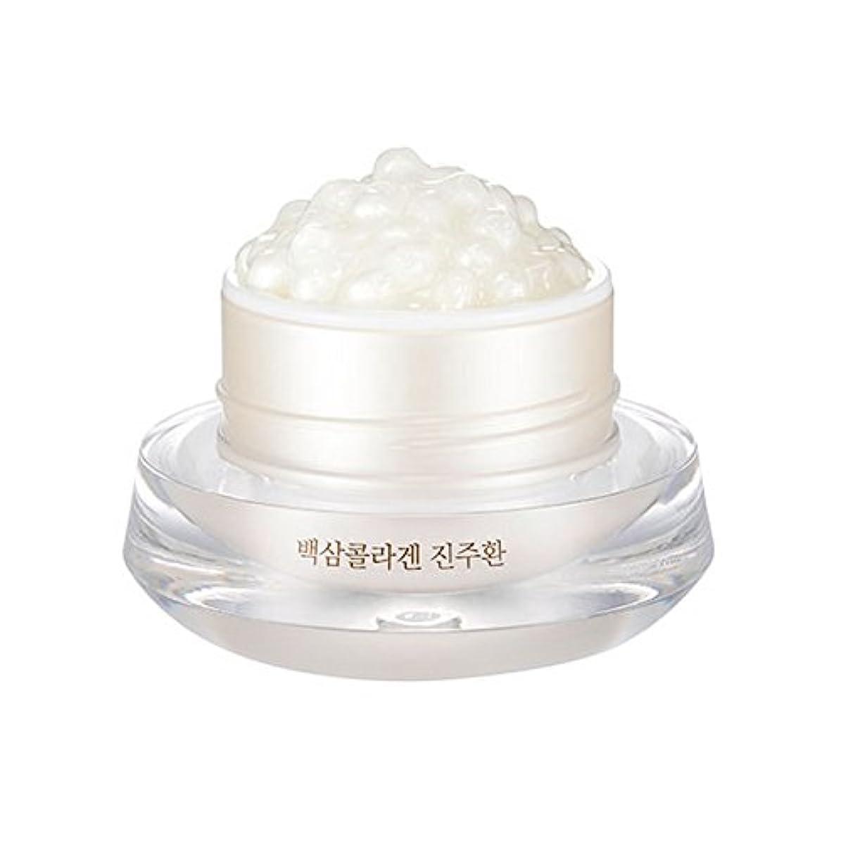 太平洋諸島傾向がありますサイクル[ザ?フェイスショップ] The Face Shop 白参 コラーゲン パール カプセルクリーム White Ginseng Collagen Pearl Capsule Cream [並行輸入品]