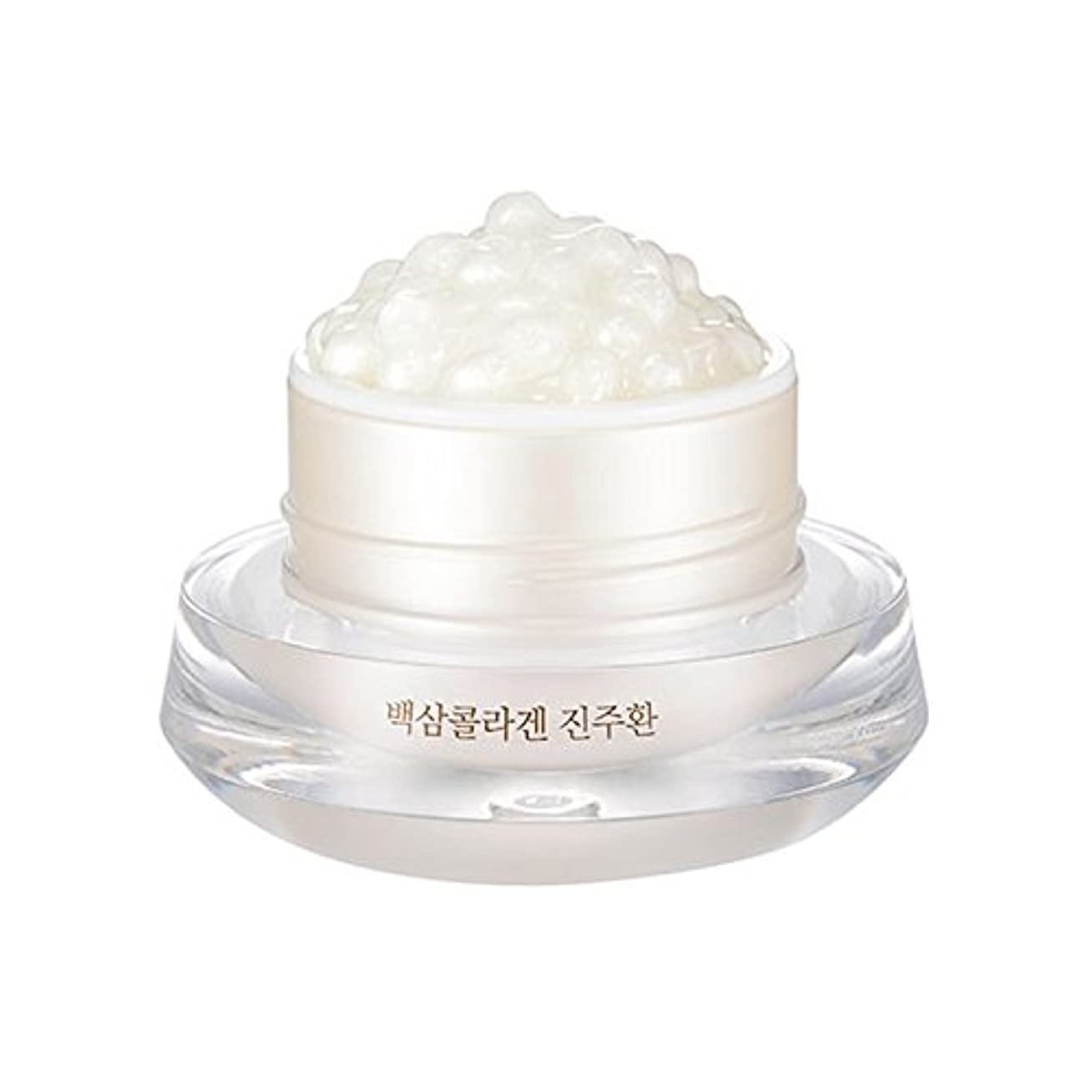ビット発表する大惨事[ザ?フェイスショップ] The Face Shop 白参 コラーゲン パール カプセルクリーム White Ginseng Collagen Pearl Capsule Cream [並行輸入品]