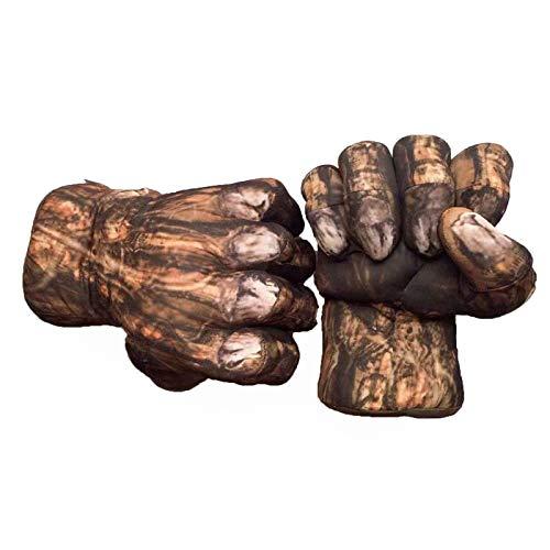 U/C Nios Thanos Hulk Guantes de Boxeo Smash Hands Guantes de Entrenamiento de Felpa Suave Cosplay Disfraz de Juguete para Regalo de cumpleaos,Hulk