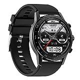 ZGNB DT70 Reloj inteligente Bluetooth Llamada reproductor de música con ECG+PPG Frecuencia Cardíaca Oxígeno Sangre Monitoreo del sueño de los hombres Fitness Tracker Podómetro Reloj deportivo (F)