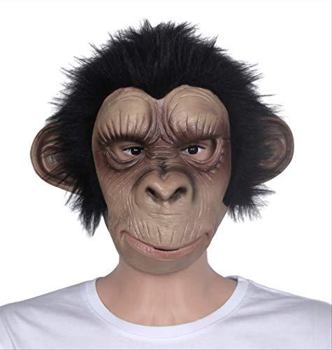 tytlmask dier masker Cosplay kostuum aap volwassen kind latex ademende halloween partij decoratie partij Tricky leuk masker