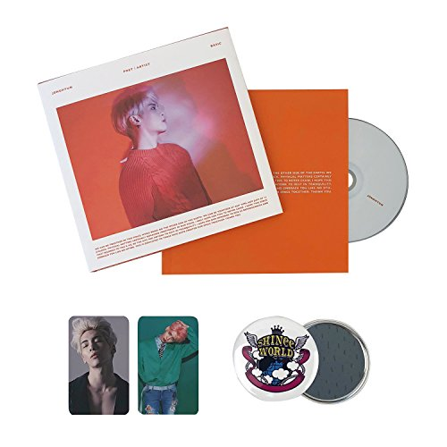 SHINEE JONGHYUN Album - [ POET / ARTIST ] CD + Cover + Booklet + FREE GIFT / K-POP Sealed