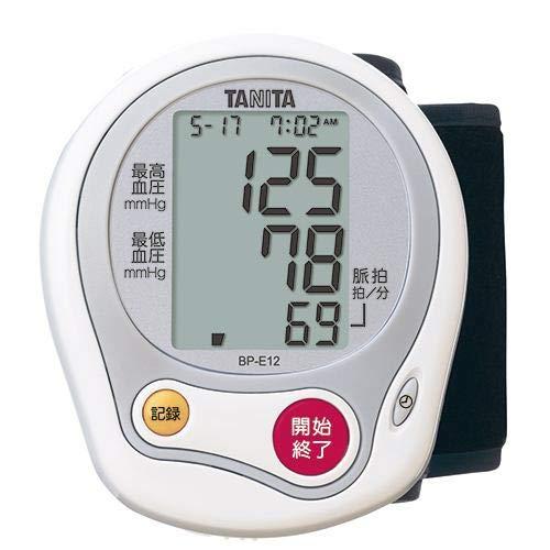 タニタ 手首式血圧計(ホワイト)TANITA BP-E12-WH