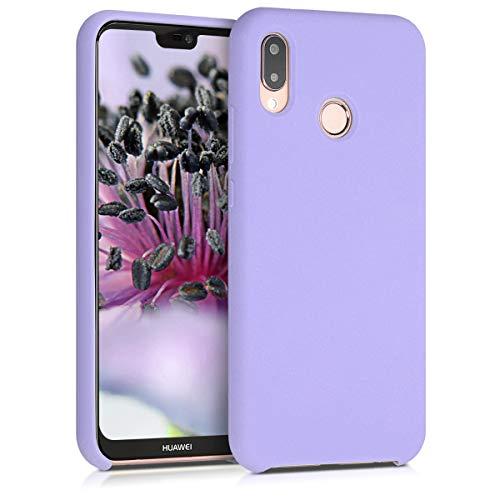 kwmobile Cover Compatibile con Huawei P20 Lite - Custodia in Silicone TPU - Back Case Protezione Cellulare Lavanda