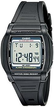 Casio Men s W201-1AV Chronograph Water Resistant Watch