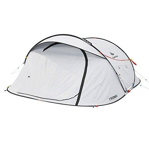 テント ケシュア 設営時間たったの2秒!?超スピーディーに組み立て可能&コスパ最強な<ケシュア>のテント YAMA HACK