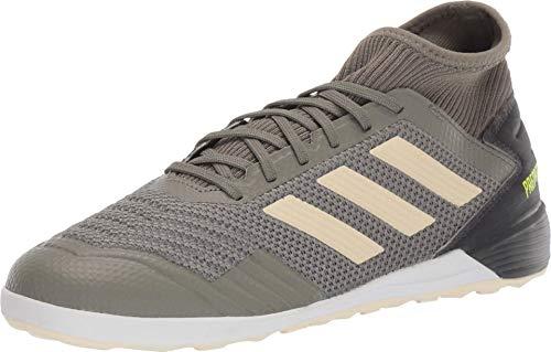 adidas Predator Tango 19.3 Indoor Boots Soccer Shoe (mens) Legacy Green/Sand/Solar Yellow 11.5
