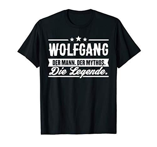 Wolfgang Name Lustiger Spruch Shirt Vorname Geschenk