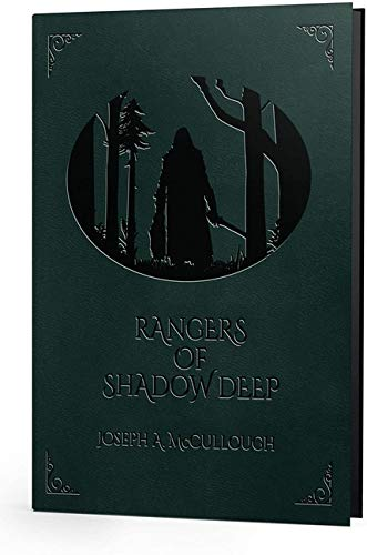 Modiphius Entertainment Rangers of Shadow Deep - Deluxe Edition RPG for Adults, Family and Kids 13 Years Old and Up (Hardback, Full Color RPG)