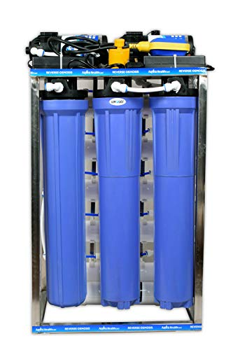 WHOLER commercial 50 lph ro Water Purifier with mineral water, ro water purifier plant 50 Liter Full Stainless Steel Body