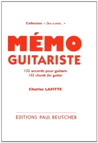 Partition : Memo du guitariste