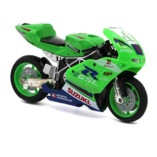 sevenjuly Motorrad-Modell-Motorrad-Spielzeug Racing Motorrad-Legierung Auto Spielzeug, Dekoration, Geschenk Für Kinder Jungen Kinder Sammlung Zufällige Farbe