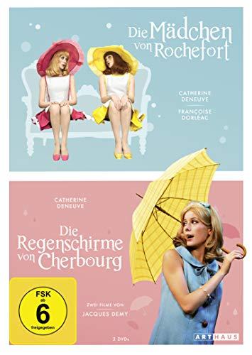 Die Mädchen von Rochefort & Die Regenschirme von Cherbourg (OmU, 2 Discs)