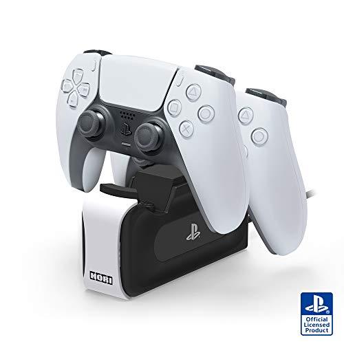 【PS5対応】DualSense™ワイヤレスコントローラー専用 充電スタンドダブル for PlayStation®5【SONYライセン...