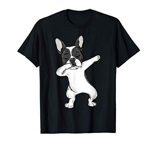 Dabbing French Bulldog Frenchie Dab Girls T-Shirt