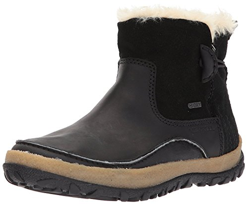 Merrell Damen Tremblant Pull on Polar Waterproof Kurzschaft Stiefel, Schwarz (Black Black), 41 EU
