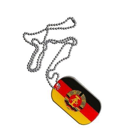 Dog Tag / Erkennungsmarke / Kette Deutschland DDR - 3 x 5 cm