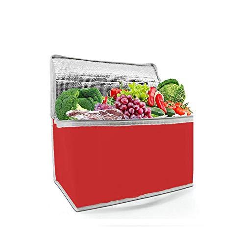 Ducomi Koeltas, draagbare thermo-koelbox voor lunch, strand, zee, camping, geneeskunde en kantoor, lunchtas voor warme en koude levensmiddelen