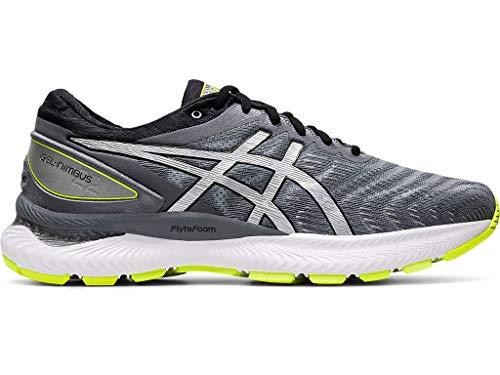 ASICS Men's Gel-Nimbus 22 Lite-Show Running Shoes, 10.5, Metropolis/Pure Silver
