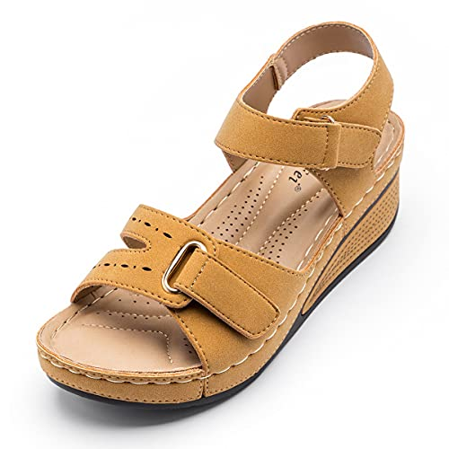 Light Soft Women Sandals, New Summer Ladies Hollow Out Wedges Female Casual...