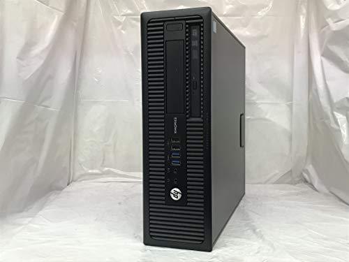 【中古】 ヒューレットパッカード HP EliteDesk 800 G1 SFF デスクトップパソコン Core i5 4690 3.5GHz メモリ4GB SSD120GB+HDD500GB DVDスーパーマルチ Windows7 Professional 32bit C8N26AV