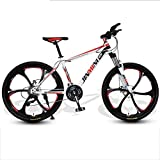 WGYDREAM Mountainbike Mountain Bike MTB Mountainbike/Fahrräder, Carbon-Stahlrahmen, Vorderradaufhängung und Dual Disc Brake, 26inch Mag Wheels Mountainbike Mountain Bike MTB