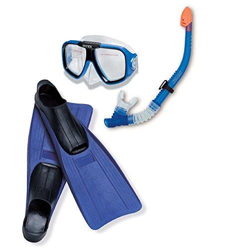 Intex Rifftaucher Taucherbrille Schnorchel Flossen ab 8 Jahre