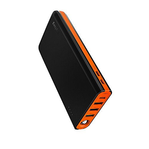 EasyAcc 20000mAh USB-C 18W Quick Charge portable power bank and charger