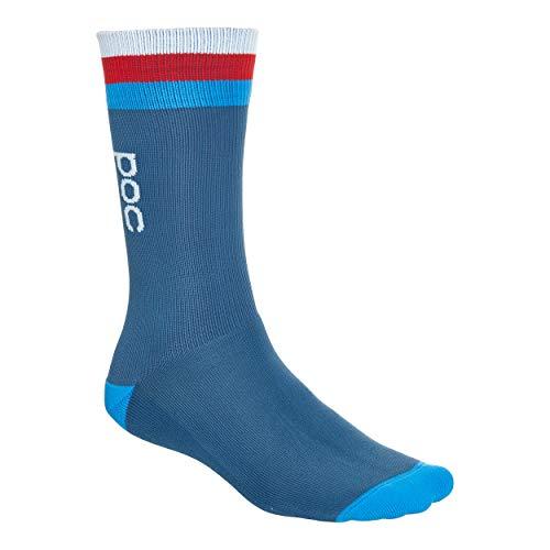 POC Herren Essential Mid Length Sock, Cubane Multi Blue, MED