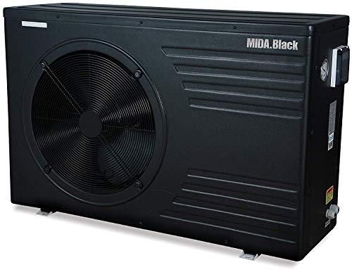 Midas Wärmepumpe für Pools Mida Black 21 120 m3 21 kw / 380 V Code 2905