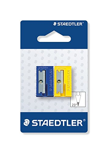STAEDTLER 510 50 BK2 - Afilalápices de plástico. Pack con