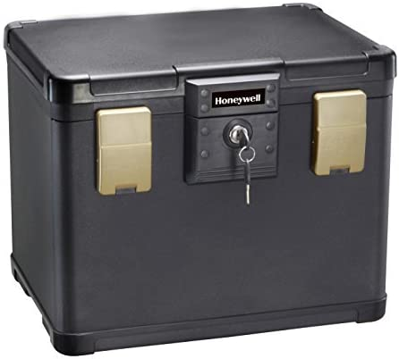 Cabinet Safes DELUXE/Filing Safe Box Chest 1106 fits Letter and A4 ...