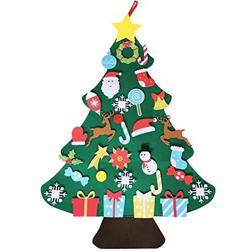 FunPa Decoração de Árvore de Natal de Feltro