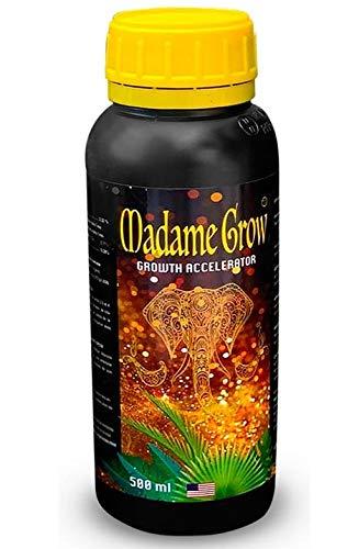 MADAME GROW   Superconcentrato   Concime Organico per Le Piante Grow Accelerator 500 ml Trattamento per Radici Stimolante, Migliora la Lunghezza e La Massa delle Radici