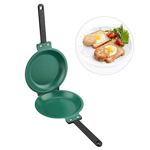 Double Side Pan Non-stick Ceramic Flip Frying Pan Pancake Maker Household Kitchen Cookware