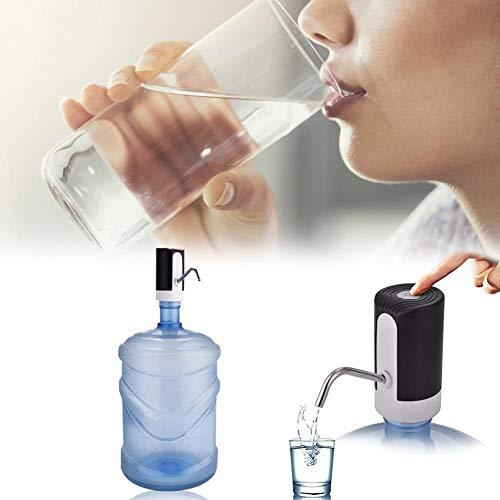 cuffslee - Bomba de Agua Potable electrónica, Botella de Agua inalámbrica, dispensador automático de Agua Potable, Bomba eléctrica