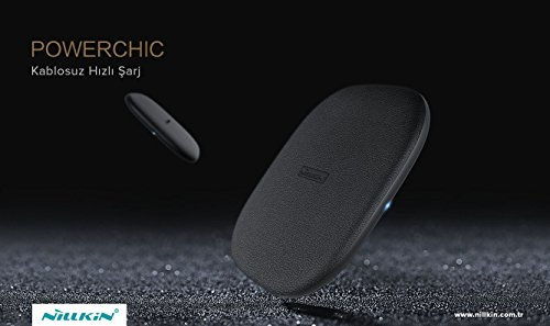 Cargador inalámbrico rápido, [Magic Cube] Nillkin 10 W Quick Wireless Base de Carga para Galaxy S9/S9+/S8/S8+/S7/S7 Edge S6 Edge Plus para iPhone X 8 8Plus y Todos los Dispositivos Qi-Enable